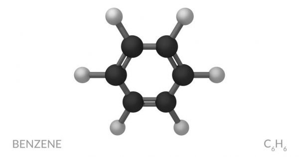 Chemical Structure of Benzene