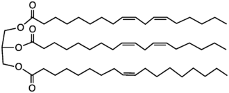 Chemical Structure of Sunflower Oil